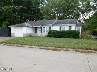 Murphysboro Single Family Home For Sale: 2405 Illinois Ave