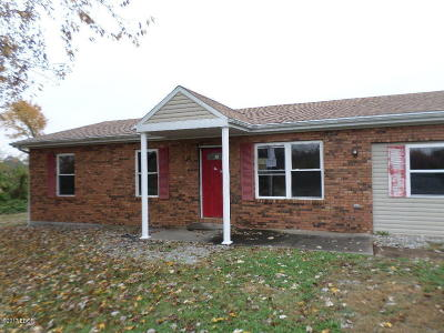 Johnston City Single Family Home For Sale: 10623 Champaign Road