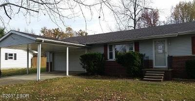 West Frankfort Single Family Home For Sale: 1168 Crystal Rd
