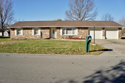 Marion Single Family Home For Sale: 608 Mary Lynn Drive