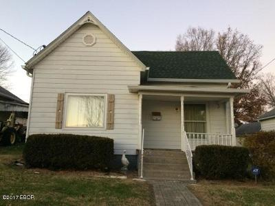 Single Family Home For Sale: 1504 Fisk Street