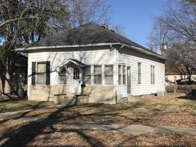 Murphysboro Single Family Home For Sale: 2024 Herbert Street
