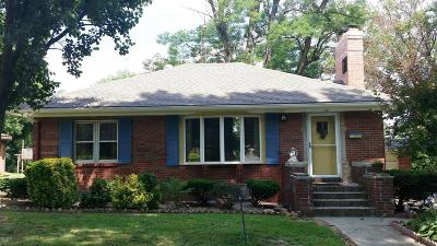 West Frankfort Single Family Home For Sale: 117 N Benton Road