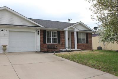 Marion Single Family Home For Sale: 603 N Fair Street #A