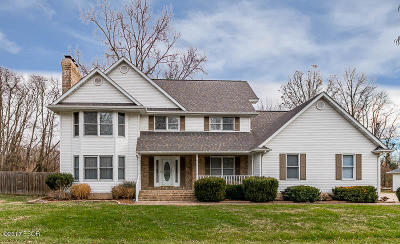 Carterville Single Family Home Active Contingent: 1608 Meadowbrook