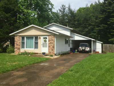 Carbondale Single Family Home For Sale: 304 S Plover Drive