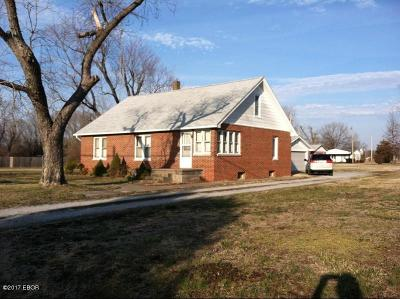 Murphysboro Single Family Home For Sale: 1210 N 7th