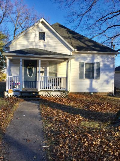 Carbondale Single Family Home For Sale: 619 N Almond