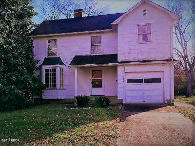 Carbondale Single Family Home For Sale: 1103 W Walkup Avenue