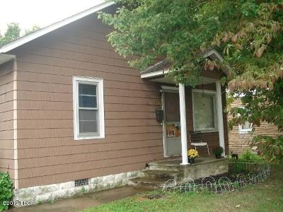 Herrin Single Family Home For Sale: 1216 W Madison