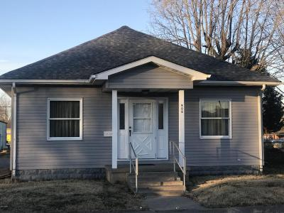 Marion Single Family Home For Sale: 906 E Carter