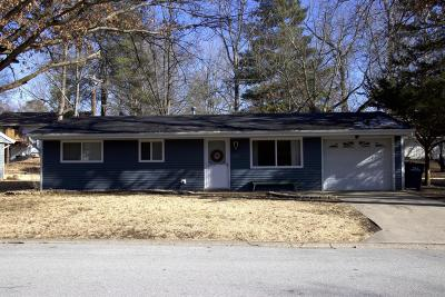 Carbondale Single Family Home For Sale: 1027 W Laurel