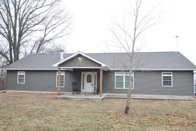 Marion Single Family Home For Sale: 9350 Leisure Lane