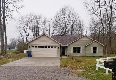 Carterville IL Single Family Home For Sale: $142,500