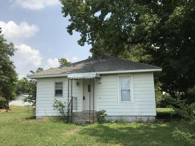 Elkville IL Single Family Home For Sale: $29,000