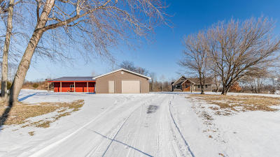 Single Family Home For Sale: 4500 Brown Road