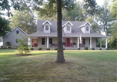 Marion IL Single Family Home For Sale: $229,500