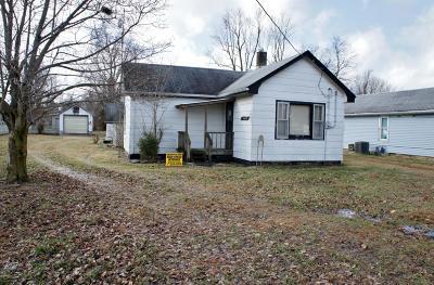 Metropolis Single Family Home For Sale: 406 W 12th Street