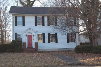 Benton Single Family Home For Sale: 202 W Church Street