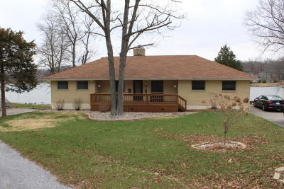Creal Springs, Goreville, Marion Single Family Home For Sale: 12861 Oasis Court