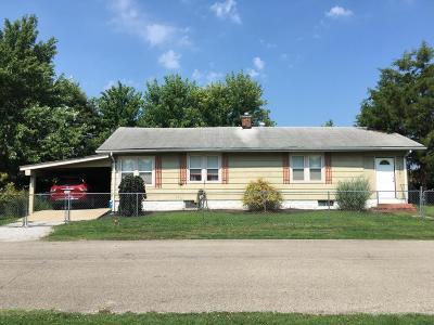 Murphysboro IL Single Family Home For Sale: $40,000
