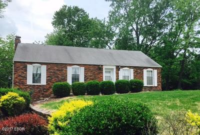 Carbondale IL Single Family Home For Sale: $145,000