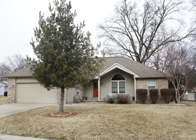Marion Single Family Home For Sale: 1508 Brittany Lane
