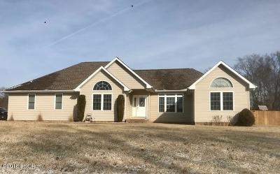 Carterville Single Family Home Active Contingent: 1112 Travis Lane