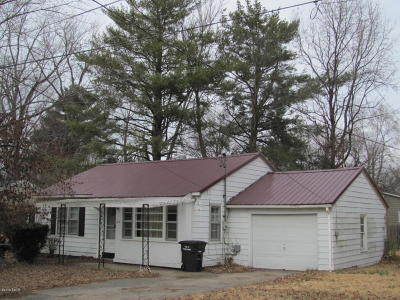 Carbondale Single Family Home For Sale: 910 W Linden Street