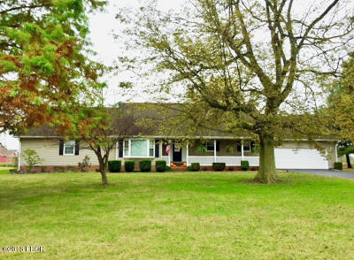 Metropolis Single Family Home For Sale: 6140 S U.s. Hwy 45
