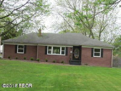 Marion Single Family Home For Sale: 402 Bainbridge Road