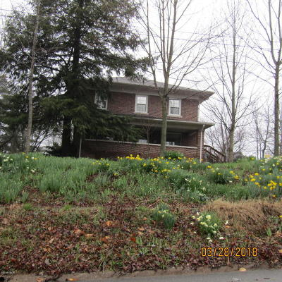 West Frankfort Single Family Home Active Contingent: 108 N Benton Road