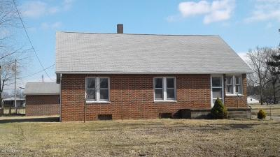 Murphysboro Single Family Home For Sale: 1210 N 7th