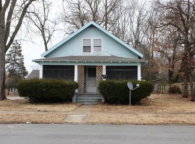 Carbondale IL Single Family Home For Sale: $59,000