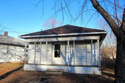 Murphysboro Single Family Home For Sale: 448 N 16th