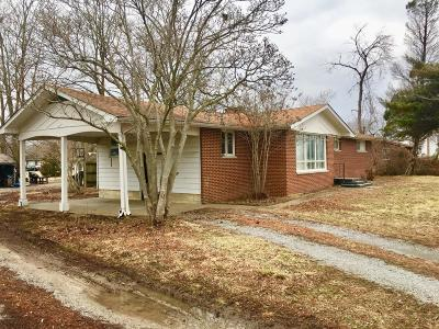 Carbondale IL Single Family Home For Sale: $64,500