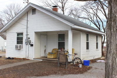 Carbondale IL Single Family Home For Sale: $39,000