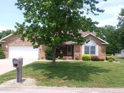 Marion Single Family Home For Sale: 808 Horizon Drive