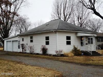 Herrin IL Single Family Home For Sale: $48,000