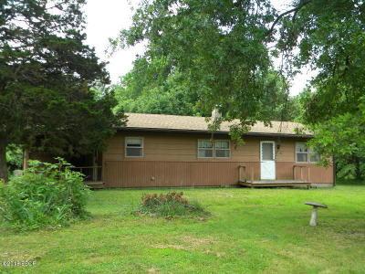 Murphysboro Single Family Home For Sale: 172 Bluebird Trails