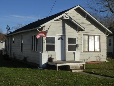Herrin IL Single Family Home Active Contingent: $36,500