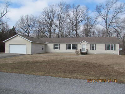 Marion Single Family Home For Sale: 11250 Husband Road