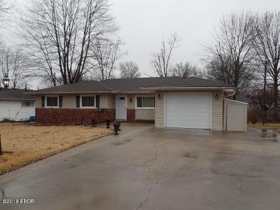 Marion Single Family Home For Sale: 1707 Julianne Drive