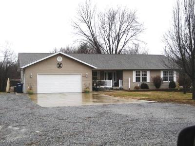 West Frankfort Single Family Home For Sale: 1283 Ramsey Heights Road