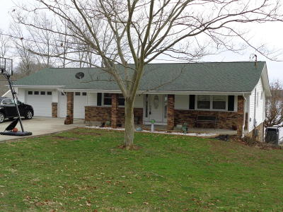 Creal Springs, Goreville, Marion Single Family Home For Sale: 13355 Lakeview Drive
