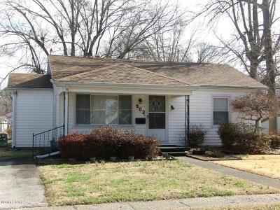 Murphysboro Single Family Home For Sale: 902 Keough Dr
