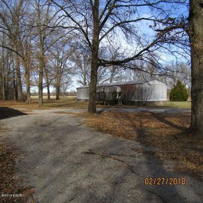 Johnston City Single Family Home Active Contingent: 14300 Poor Farm Road