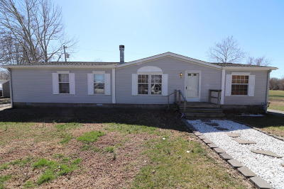 Eldorado IL Single Family Home For Sale: $76,900