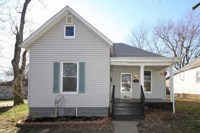 Murphysboro Single Family Home For Sale: 721 S 20th Street