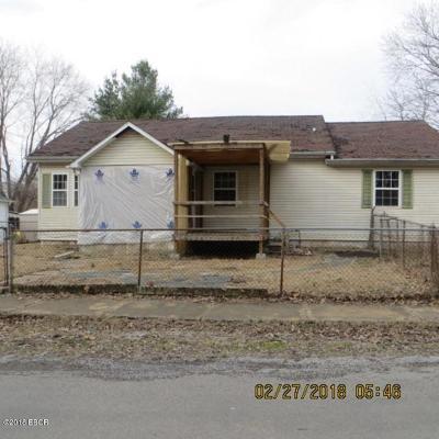 West Frankfort Single Family Home For Sale: 506 W Stotlar